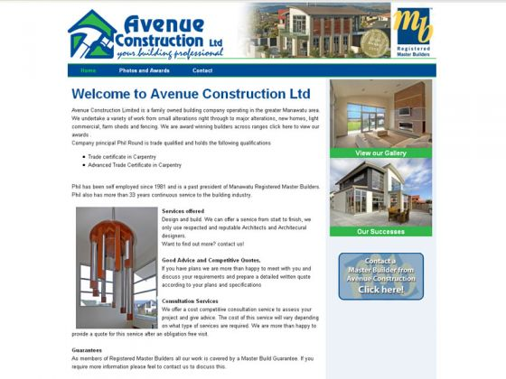 Avenue Construction Ltd.