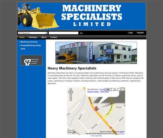 Machinery Specialists