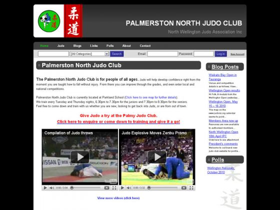 Palmerston North Judo