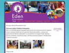 Websites That Sell:Educational Websites :Eden Kindergarten