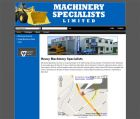 Websites That Sell:Website Portfolio Web Design:Machinery Specialists